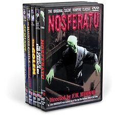 German Expressionism: 5 Vintage 1920s Horror Movies Collection Boxed DVD Set NEW