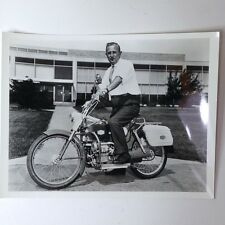 ✇ Originalfoto UNION CARBIDE MOTOCYCLE Alkali Fuel Cell Antrieb mega rare 1967
