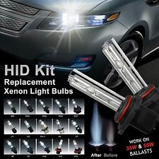 Two Xenon HID Light Bulbs for HID Kit replacement 5202 9006 9005 H10 H11 H7 H3