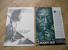 BUDDY GUY - A4 magazine poster ad + article (blues guitar legend)