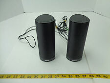 "Dell Computer Speaker AX210 PC Laptop 2 Speakers USB Powered Black 7"" Tall T"