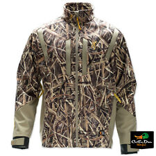 BROWNING DIRTY BIRD WIND KILL PROOF JACKET COAT SHADOW GRASS BLADES CAMO XL