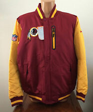 Mens XL Nike Washington Redskins Reversible Zip Jacket Coat Thermore Red 539033