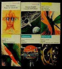 Lotto stock di 6 romanzi fantascienza La Tribuna Galassia / titoli in foto