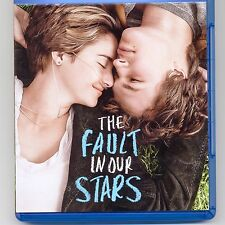 The Fault in Our Stars 2014 romantic drama PG movie Blu-ray Woodley Elgort Dern