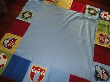 POTTERY BARN KIDS WORLD CUP FIFA SOCCER KITCHEN TABLE TABLECLOTH NSA 66 X 66