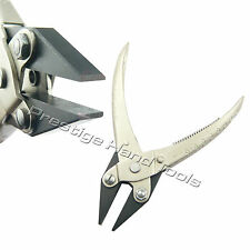 Parallel flat nose pliers opticians jewllery making tools spring Prestige 5.5""