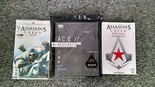Assassin's Creed Encyclopedia 1st edition,The Fall Deluxe Edition & #1 GameStop