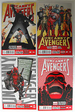 UNCANNY AVENGERS - FOUR ISSUE LOT - 1, 2, 3, 5