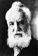 Alexander Graham Bell inventor of the telephone 1847-1922  Poster Print