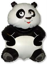 "Big Panda Shaped Black & White Balloon 26"" Foil Balloon"