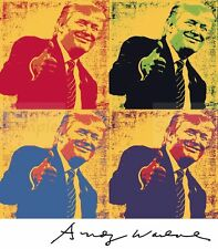 """Donald Trump """"Four Trumps by Andy Warhol MK2"""" signed vintage-style 300gsm 13x19"""