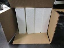 """16X Styrofoam Blocks 8"""" x 2"""" X 2"""" White Foam EPS Polystyrene Block Craft Crafts"""