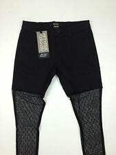 Diesel Brand New Women's Premis Jeans With Lace Size W29 Color Black