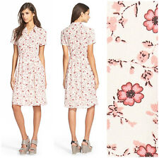 WAYF  * PIN UP * JAPANESE BLOSSOM  SHIRT DRESS   Sz M  NWT  NORDSTROM  $68