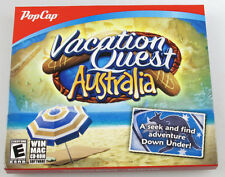 PopCap Vacation Quest AUSTRALIA PC/MAC Software Games~Seek and Find Adventu