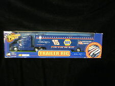 "WINER""S CIRCLE NASCAR MICHAEL WALTRIP TRAILER RIG- #15 NIB - GOD BLESS AMERICA"