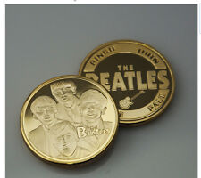 The Beatles Coin includes John Lennon Paul McCartney George Harrison & Starr