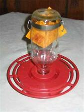 BEST-1 HUMMINGBIRD FEEDER with 8 oz. GLASS BOTTLE, Made in the USA