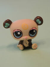 #1495 Panda Pandalyn Blossom bear heart ears LPS Littlest Pet Shop Figurine