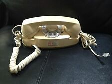 Vintage Princess Phone Beige Rotary Dial Telephone Western Electric 702BM