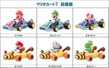 Japan Furuta Super Mario Kart 7 Full Set 6 Racer Car Candy Toy Model Figure MIB