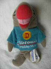 Airtours the holiday makers dizzy  shark soft toy 9''