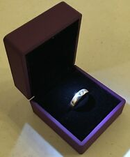 Lavender LED Lighting Jewelry Engagement Wedding Ring Gift Box BR0000L
