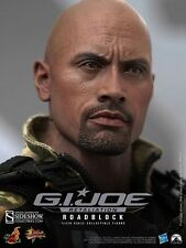Hot Toys Gi Joe Roadblock 1/6 Scale Figure Dwayne Johnson The Rock Luke Hobbs