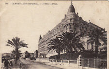 CANNES 580 hôtel carlton écrite 1918