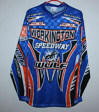 Workington Speedway Wulfsport racing shirt Thomas Armstrong Size M
