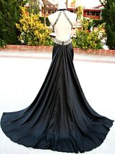 NWT JOVANI 17450 black $400 Evening Party Ball Gown 10