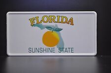 USA FLORIDA STATE LICENSE PLATE US Kennzeichen Nummernschild DEIN WUNSCH TEXT!!