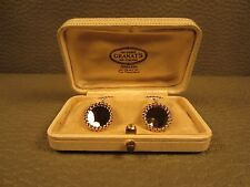 Tiffany Art Deco 14kt Gold Cuff Links Circa 1925 in Original Box