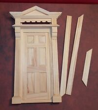 Dollhouse Miniature Front Door Entry 1:12 one inch scale  F33 Dollys Gallery