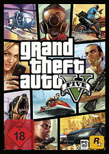 GTA 5 Grand Theft Auto V (PC) - Nuovo-OVP-Dvd Box + BONUS