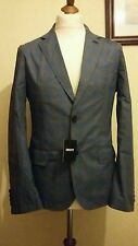 DKNY Two Tone Check Sport Coat Blazer BFB104792 Size 40R