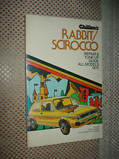 1975 VW RABBIT SCIROCCO SERVICE MANUAL SHOP BOOK CHILTONS REPAIR
