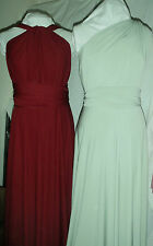 TwistWrap Infinity Dress,Bridesmaid,Cruises, Party Silvery Apple Green Other Col