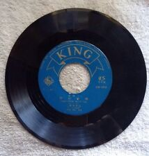 RARE KING RECORD COMPANY JAPAN IMPORT/45 RPM/INCLUDES SLEEVE & ILL DANCE STEPS.