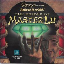 Ripley's Believe it or Not The Riddle of Master Lu PC 1995