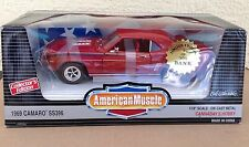 1969 Camero SS396 1:18 Cannaday's Hobby American Muscle ERTL in box BANK CAR