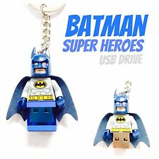 LEGO Minifigure Keychain USB Flash Drive 8GB Custom, You Pick One (see Pictures)