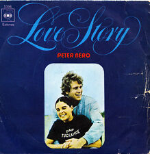 PETER NERO-LOVE STORY + EL CONDOR PASA SINGLE VINILO 1970 SPAIN