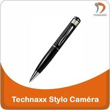 TECHNAXX Camera Video Stylo Pen Bic Espion Spy Spion Interview HD 8Go