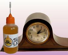 SUPERIOR LUBRICATION For Antique Mantle Clocks, READ Slick Liquid Lube Bearings