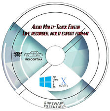 MUSIC & AUDIO RECORDING & EDITING SOFTWARE, MULTI-TRACK DIGITAL STUDIO