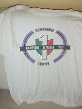 SAMPDORIA CALCIO MAGLIA T SHIRT CELEBRATIVA SCUDETTO CAMPIONE ITALIA 1991 ULTRAS