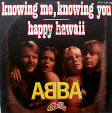 "7"" 1976 FRENCH PRESS VG+? ABBA : Knowing Me Knowing You"