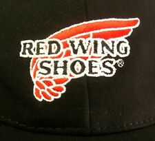 RED WINGS SHOES embroidery baseball cap Minnesota work boots hat Made in USA